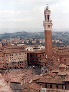 siena Turm des Mangia und Rathaus