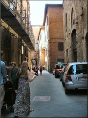 Siena una bella città