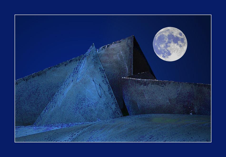 sierra metallica. luna