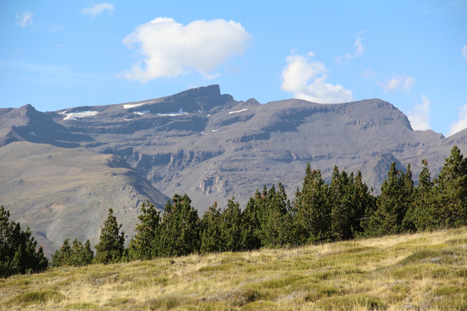 Sierra Nevada, Blick auf den Veleta.