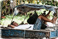 Siesta am Mekong