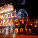 Sigaretta al Colosseo