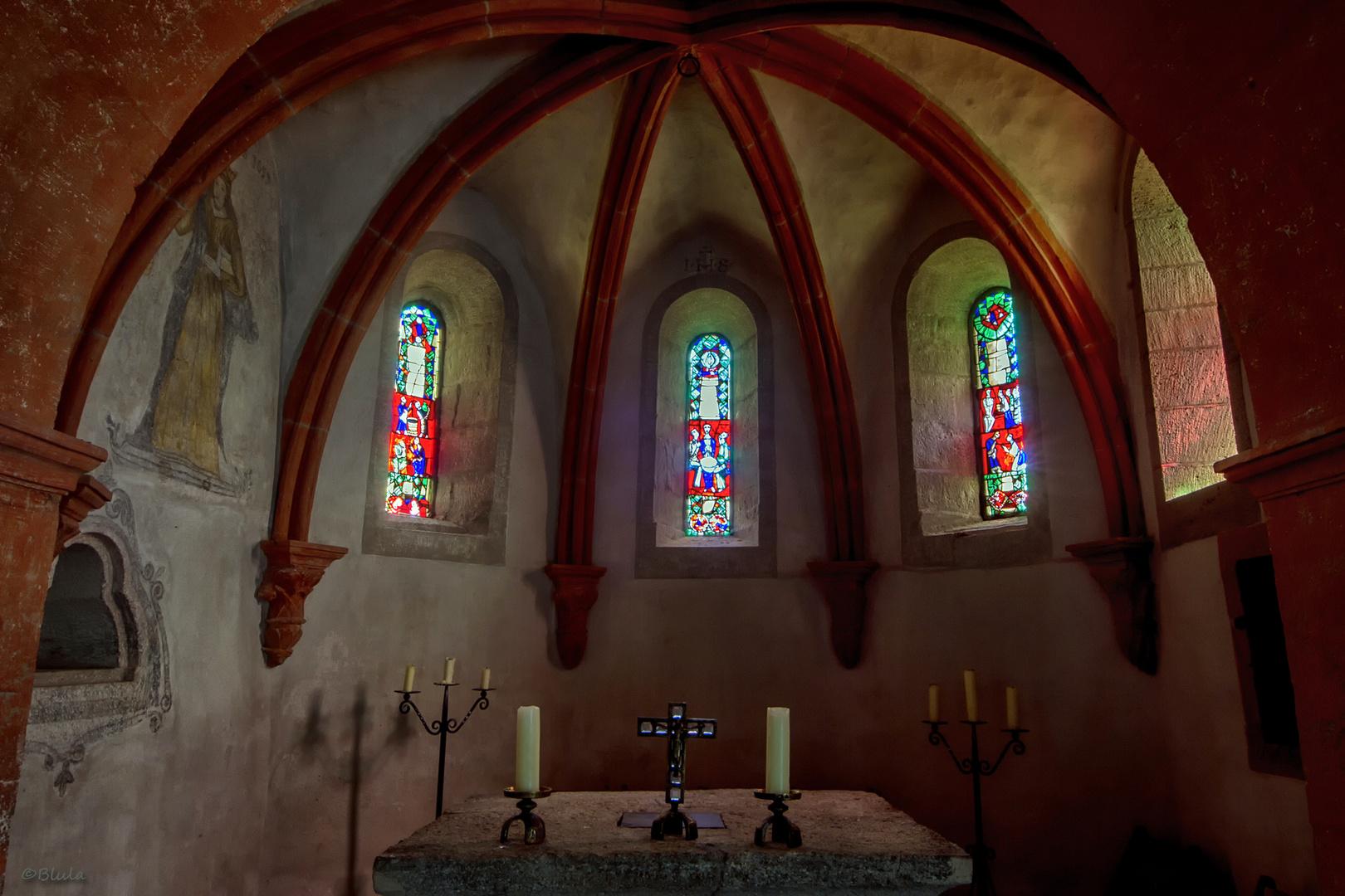 Sigismundkapelle, Chorapsis