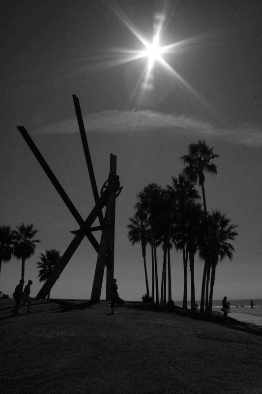 Sign on Venice Beach II