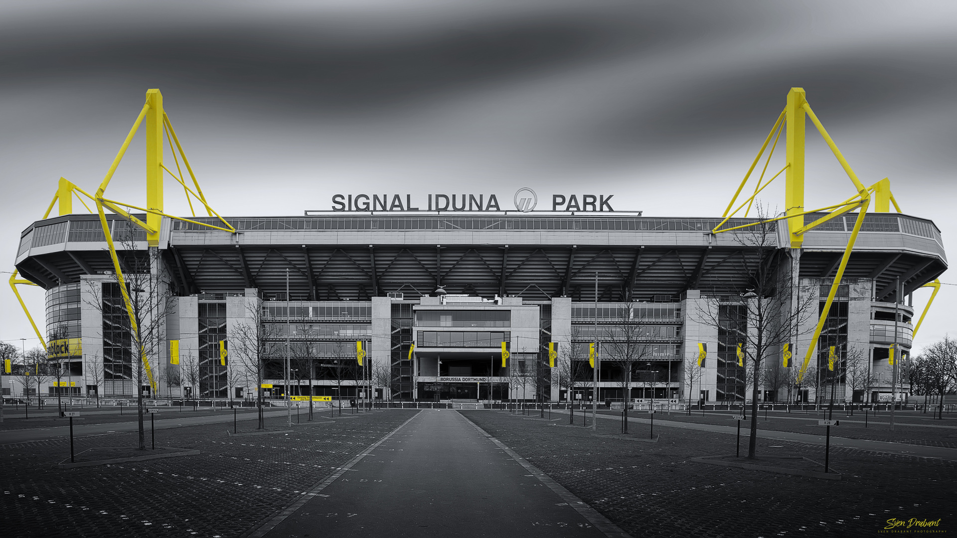 signal iduna park foto bild architektur profanbauten sportst tten bilder auf fotocommunity. Black Bedroom Furniture Sets. Home Design Ideas
