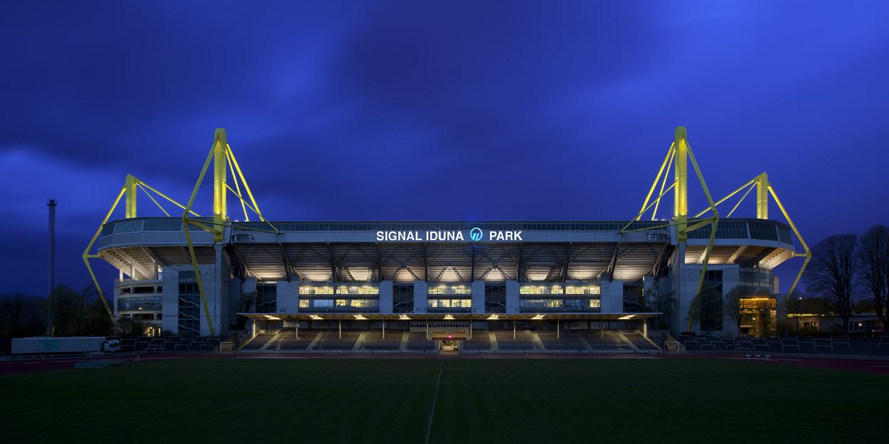 Signal Iduna Park Borussia Dortmund Foto Bild Fussball