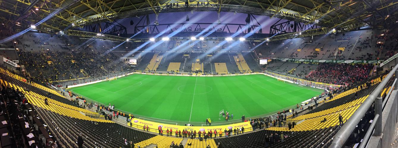 Signal Iduna Park Dortmund (Westfalenstadion) Faltin Travel Reisegäste