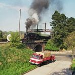 Signalbrücke in Rosswein
