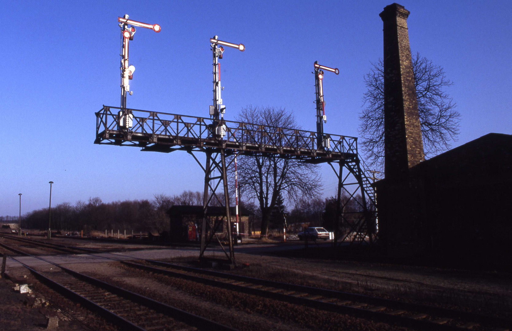 Signalbrücke Müncheberg