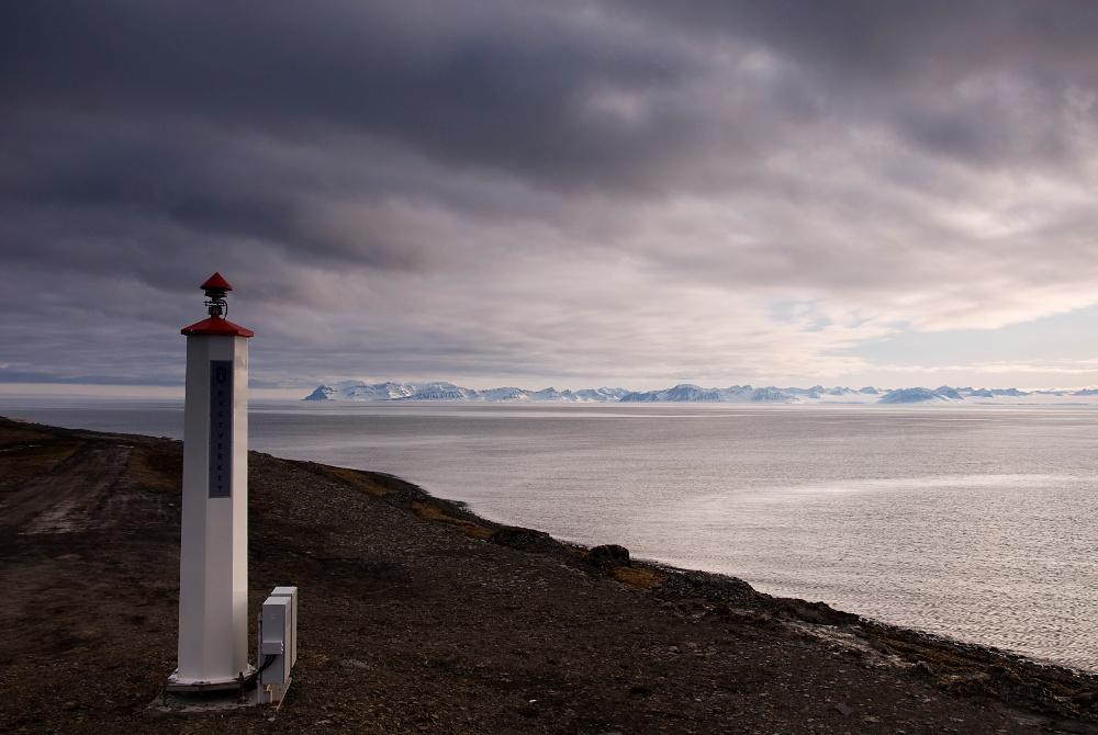 Signallicht in Björndalen
