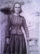 Signora in costume sardo