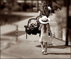 Siguiendo a mamá -I