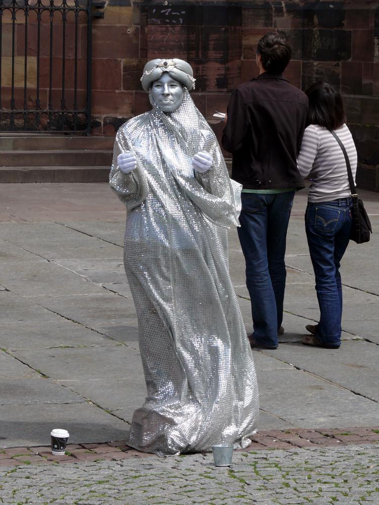Silberfrau in Straßburg