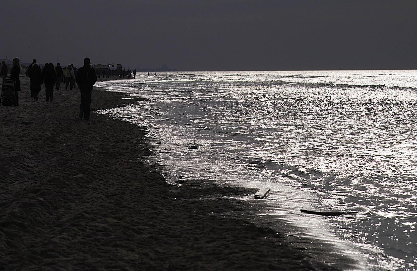 Silbernes Meer bei Zandvoort
