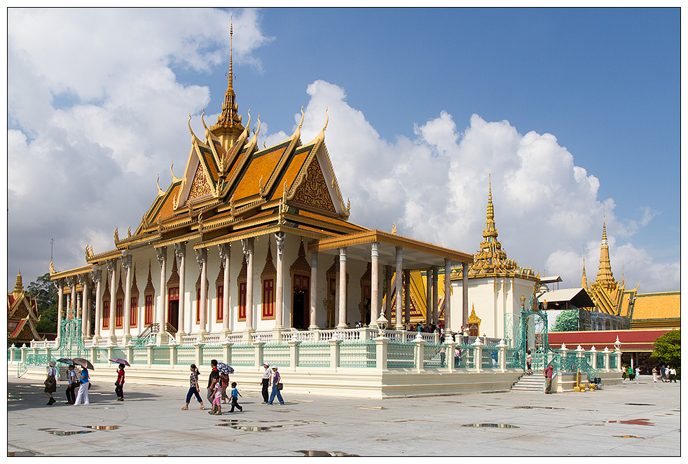 Silberpagode in Phnom Penh