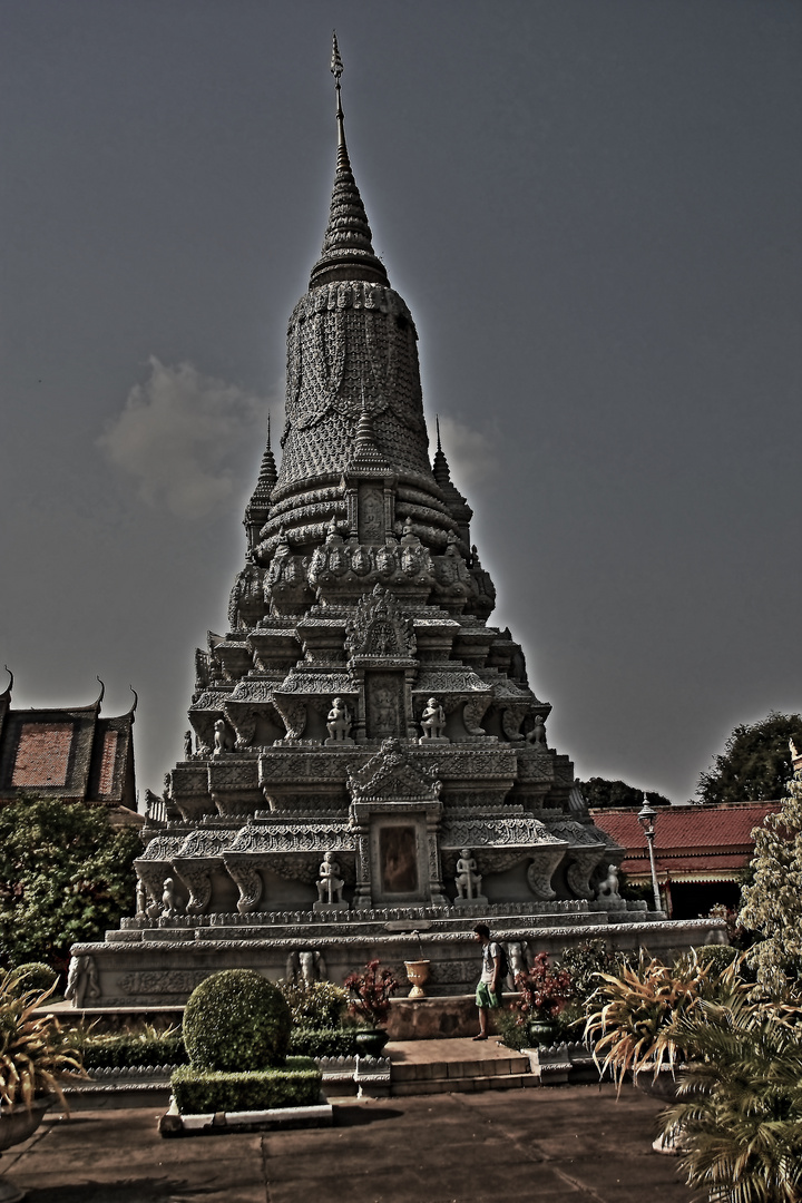 Silberpagode Phnom Penh