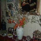 Silberschilling als Wohnzimmerdekoration
