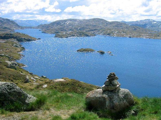 Silbersee im Fjordland