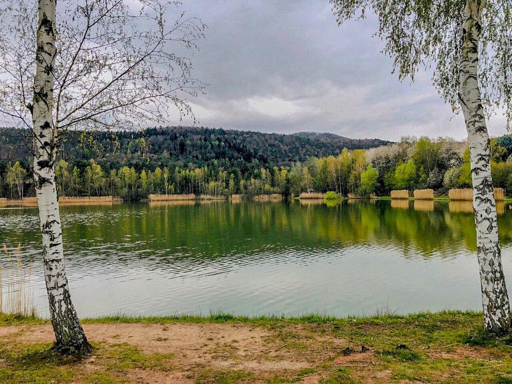 Silbersee in Landstuhl, Rheinland-Pfalz