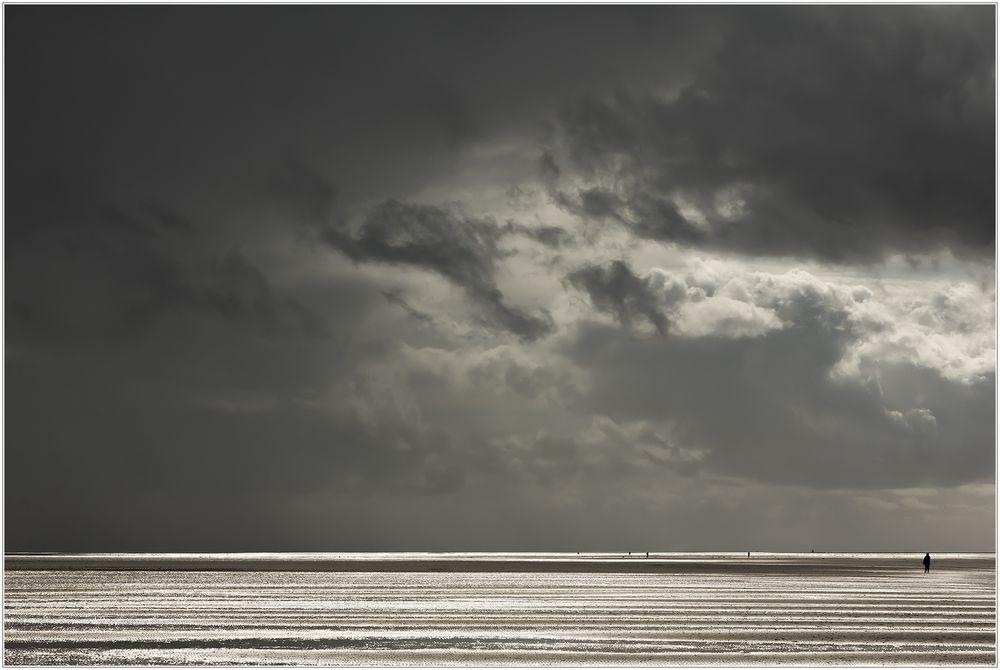 Silberstreif am Horizont... - Niemand ist allein... (mit Analyse und Interpretation)