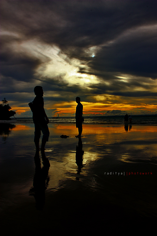 Silhouette and Reflection