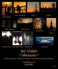 *Silhouette* Collage von aeschlih