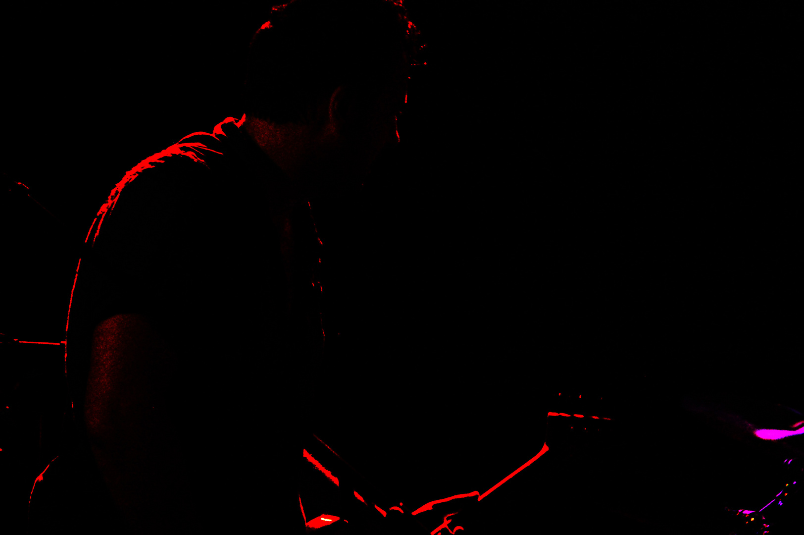 Silhouette on Bass