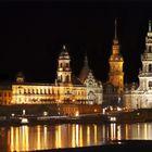 Silhouette von Dresden
