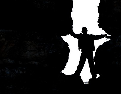 Silhoutte of my son