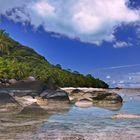 Silhuette Island Seychelles