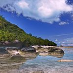 Silhuette Island Seychelles