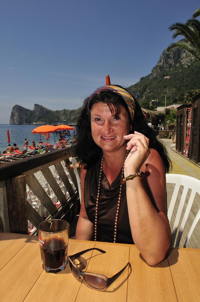 Silke in Marina Cantone - Sorrentinische Halbinsel
