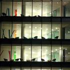 Sillas en ventanas