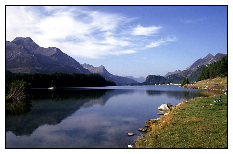 Silser See, Engadin