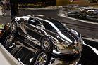 Silver Bugatti Veyron 16.4