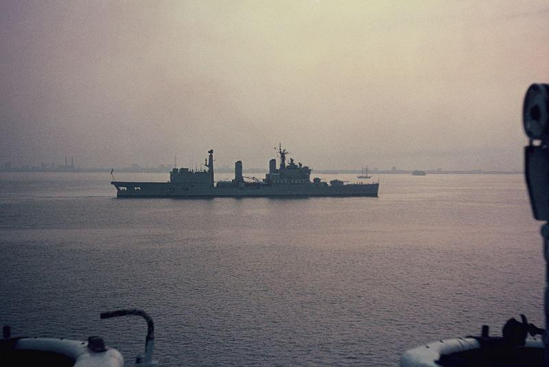 Silver Jubilee of Elizabeth II - Naval Review in Spithead (5)
