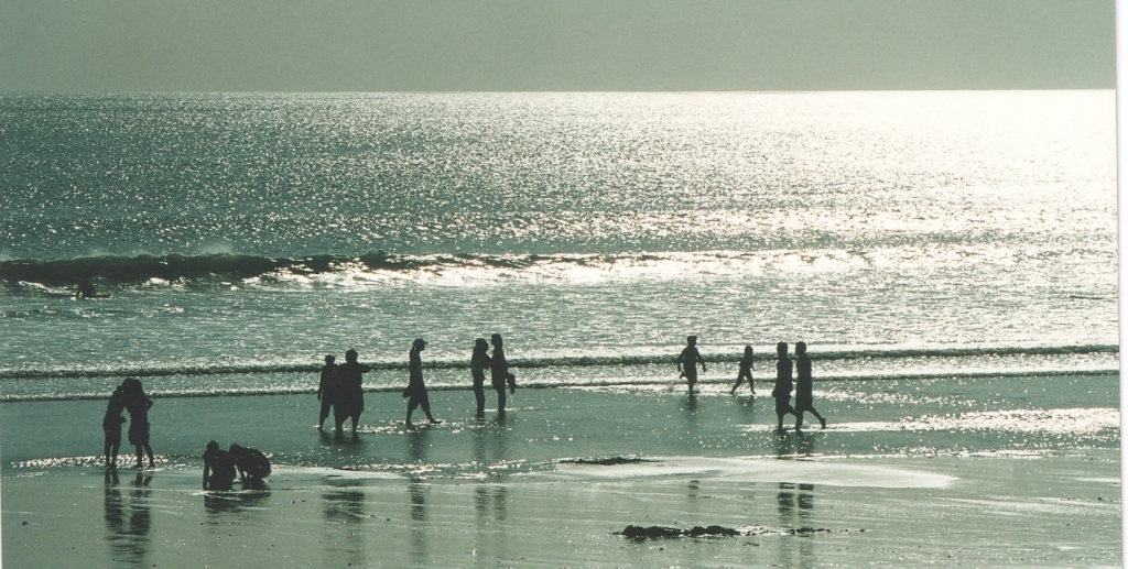 Silver water at Kuta Beach / BALI