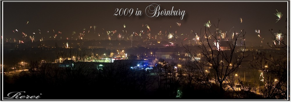 Silvester in Bernburg
