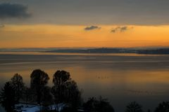 Silvesterabend am Bodensee