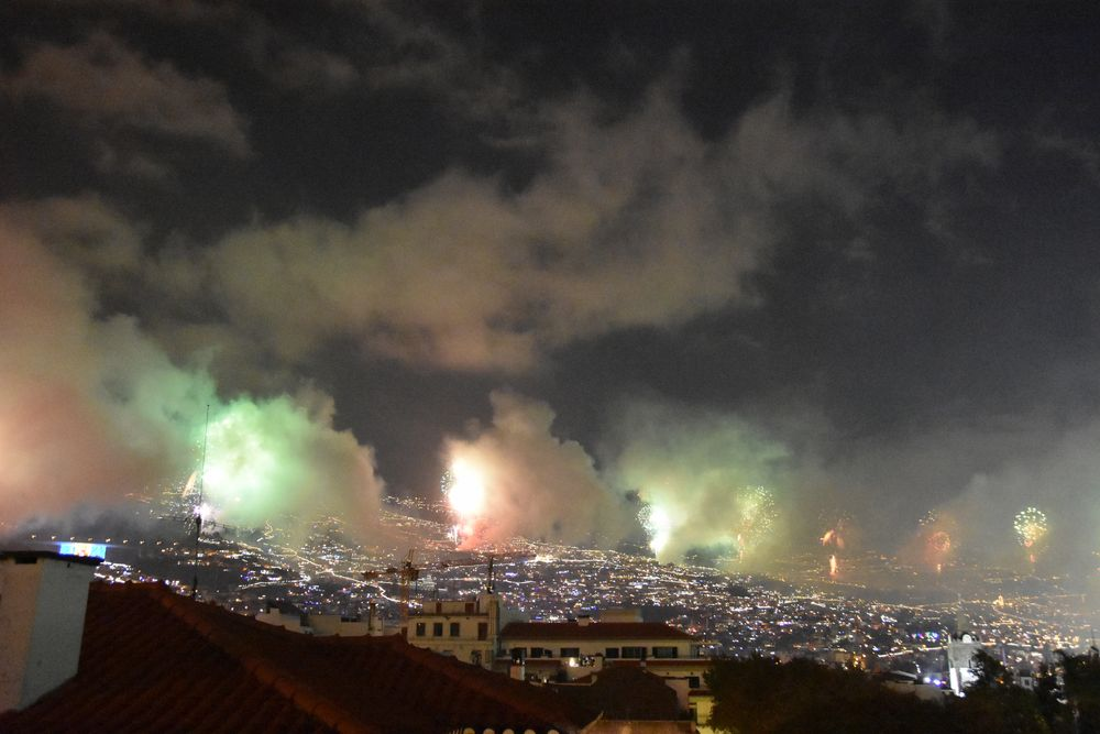 Silvesterfeuerwerk in Funchal auf Madeira (3)