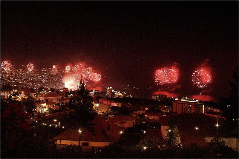 Silvesterfeuerwerk in Funchal