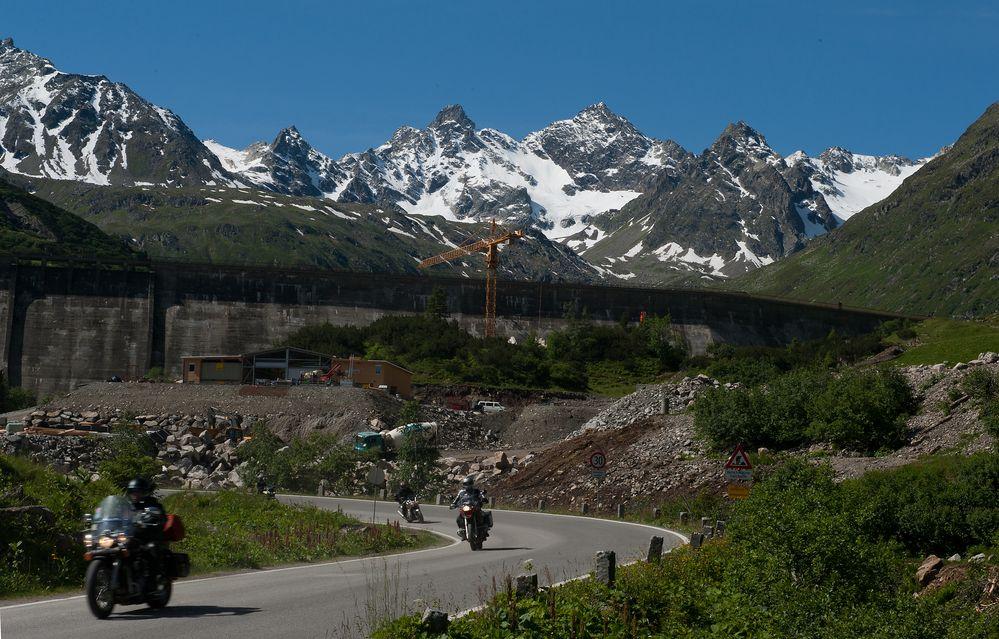 Silvretta-Hochalpenstrasse ( I.)
