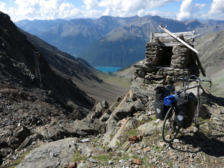 Similaunhütte Abstieg Schnalstal