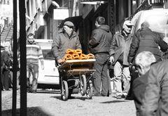 Simitverkäufer in Istanbul