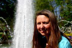 Simone im Kurpark