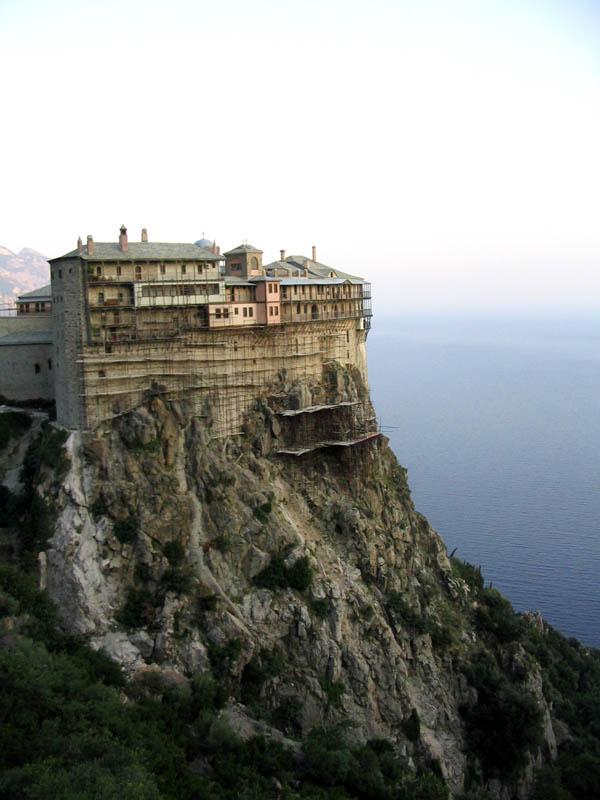 Simonopetra monastery.