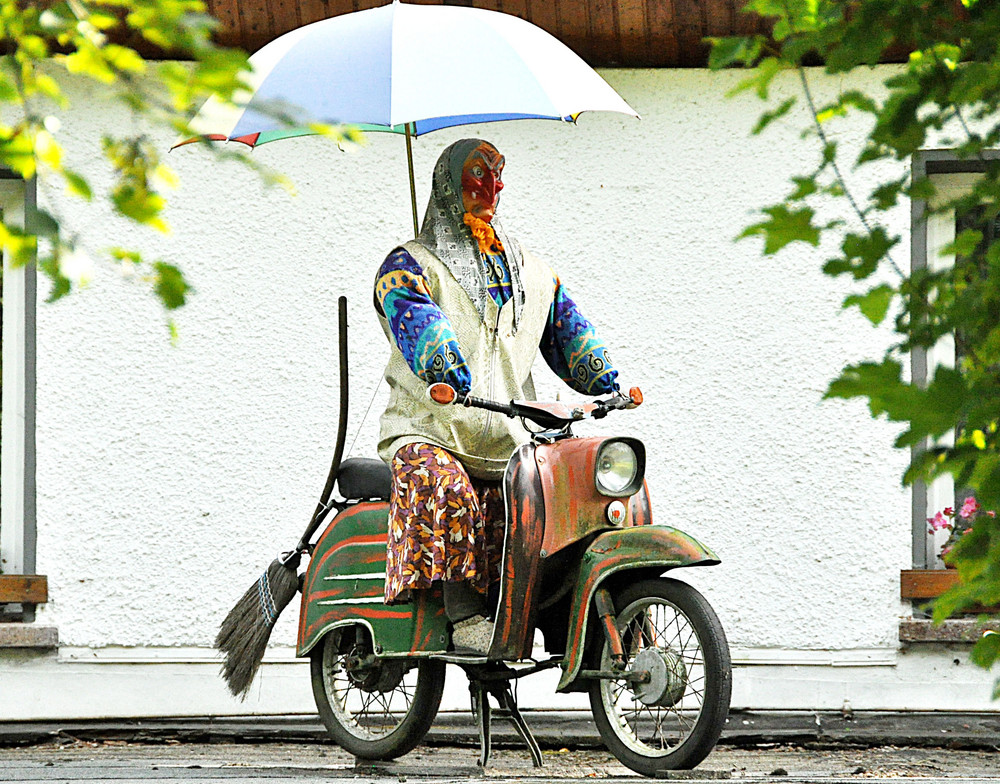 Simson Harz Bikerin Foto & Bild   autos & zweiräder