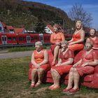 Sind sie nicht pfundig, diese roten Damen ???
