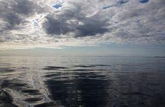Sinfonie in blau-grau - Stille auf See
