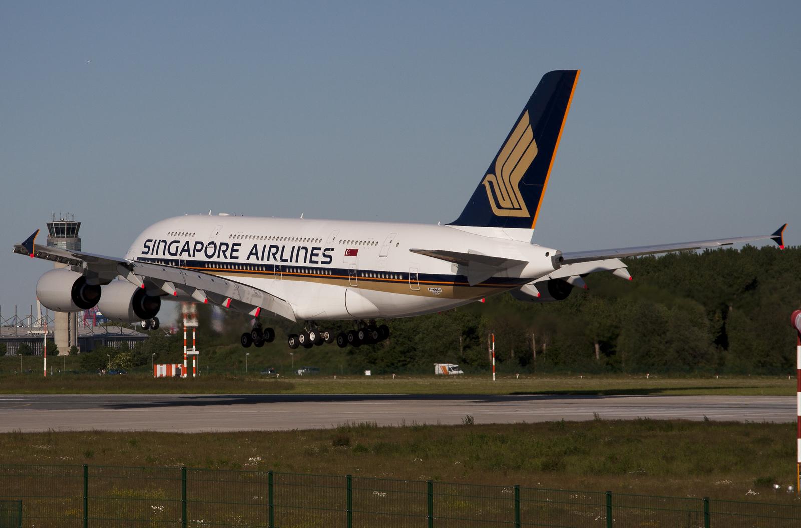 Singapore Airlines A380 MSN51 9V-SKK